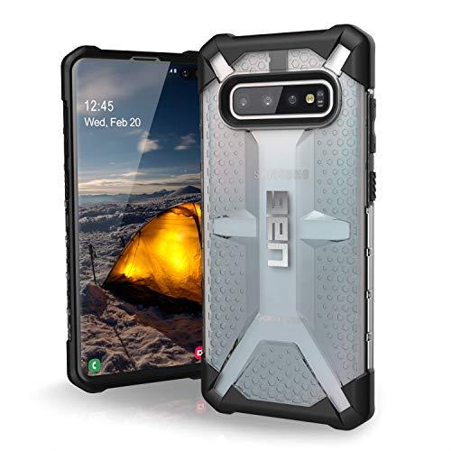 Urban armor gear Plasma para Samsung Galaxy s10+ / s10 Plus Funda con estándar Militar Estadounidense [Compatible con inducción] - Transparente.