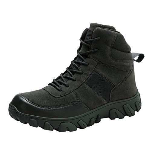 MISSQQScarpe da Trekking Impermeabili da Uomo Scarpe da Escursionismo Calzature da Escursionismo da Uomo