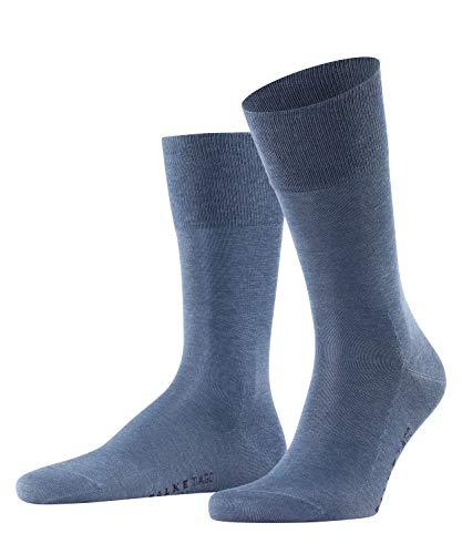 FALKE Herren Socken Tiago, Baumwolle, 1 Paar, Blau (Jeans 6670), 41-42 (UK 7-8 Ι US 8-9)