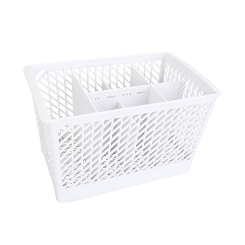 First4Spares 1 Dishwasher Cutlery Silverware Basket Holder for Whirlpool 99001576, 1