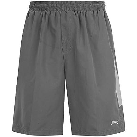 Slazenger Mens Woven Tennis Shorts Kits Elasticated Waist Exercise Fitness Workout Sports