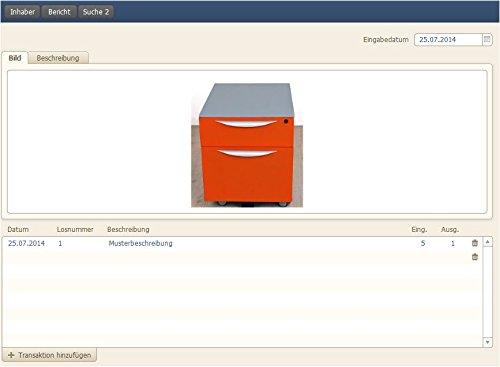 PROF-I02 Inventarverwaltung Inventarmanagement Inventardaten Verwaltung Inventar Software Catalina Mac Windows