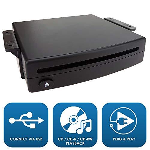 maxxcount Nachrüst CD-Player für PKW kompatibel mit Android 4.4 Auto Radios oder per USB-Anschluss (.wav) | vor Kauf Bitte .wav Datei Kompatibilität prüfen!