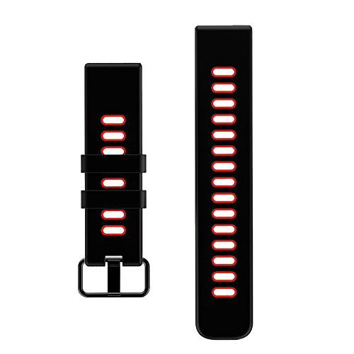 YAMAY Replacement Straps Band for SW018 Fitness Tracker (Red)