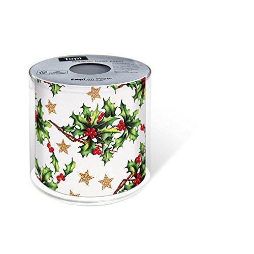 Paper + Design FSCMix, toiletpapier, 200 vel Holly allover