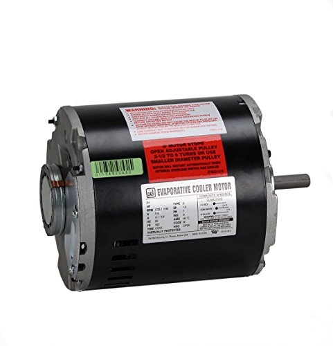 Dial 2-Speed 1/2 HP 115- Volt Permanently Lubricated Evaporative Cooler Motor