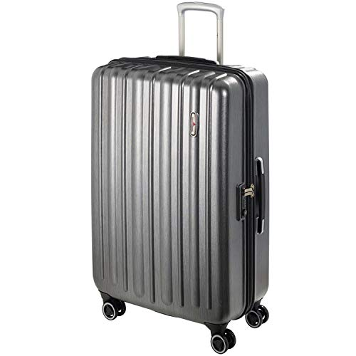 Hardware Profile Plus Volume 4-Rollen Trolley 65 cm metallic Grey