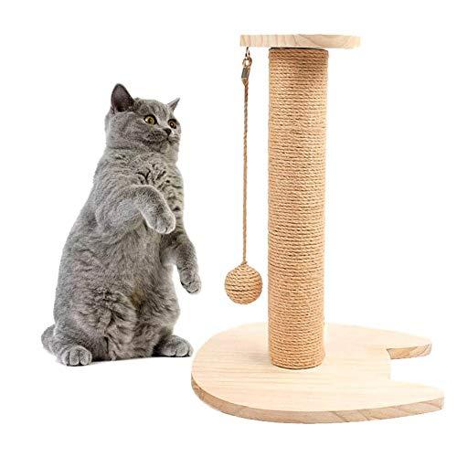 HIZQ Rascador para Gatos, Juguete Interactivo Fluffy Ball para Juegos Creativos para Mascotas, Adecuado para Entretenimiento Diario Y Molienda De Gatitos
