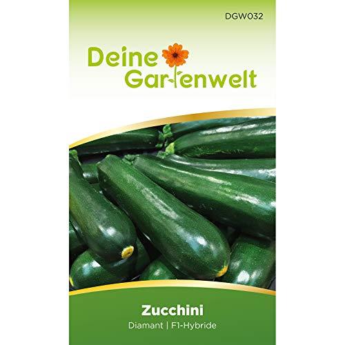 Zucchini Diamant F1 Samen | Zucchinisamen | Gemüsesamen | Saatgut für das Gemüsebeet