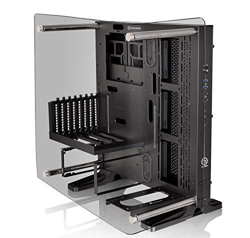 Thermaltake Core P3 Tempered Glass Curved Edition - Torre Mediano (ATX Open-Frame) Color Negro