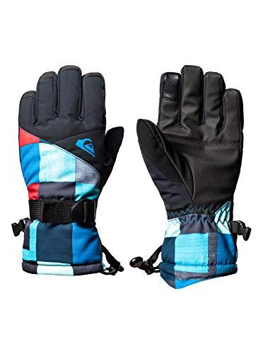 Quiksilver - Guantes para esquí/Snowboard - Niños 8-16 - M - Azul