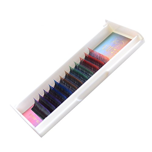 Bodermincer Long Gradient Colorful Mink False Eyelashes