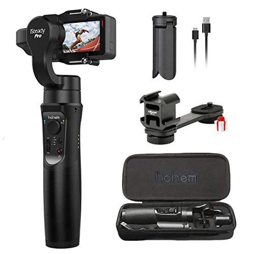 Hohem Isteady Pro 3-axis giunto cardanico per GoPro Hero 76543, Sony Rxo, SJCAM, Yi Cam, AEE, 3-axis GoPro Gimbal super leggero borsa panorama- con libero GoPro estensione stick