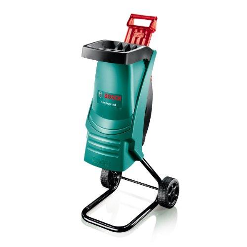 Bosch 600853670, Shredder AXT Rapid 2200 (2200 W, 230 Volt System, Cutting Capacity 40 mm, in Carton), Green/Black