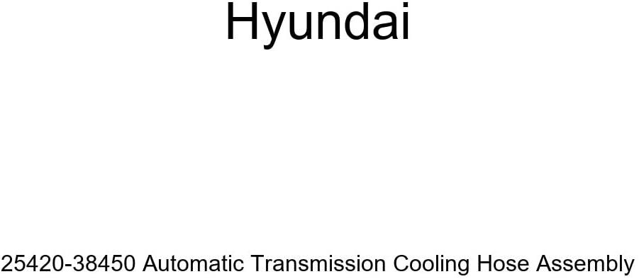 Limited time trial price Genuine Hyundai 25420-38450 Automatic overseas Cooling Transmission Hose