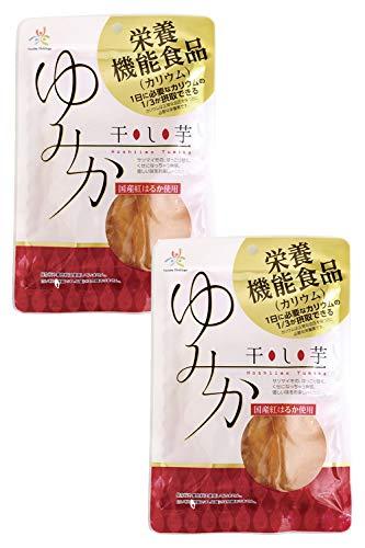 月と蛍 干し芋ゆみか 栄養機能食品(カリウム) 100g × 2