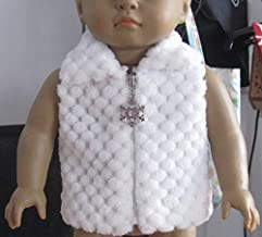 Unique Doll Clothing Pink Padded Vest for American Girl Dolls and Most 18