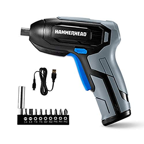 Hammerhead Rechargeable 4V Cordless Screwdriver Now $11.82 (Was $18.90)