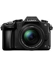 PANASONIC LUMIX DMC-G85MGW-K 4K Digital Camera, 12-60mm Power O.I.S. Lens, 16 Megapixel Mirrorless Camera, 5 Axis in-Body Dual Image Stabilization, (Black)