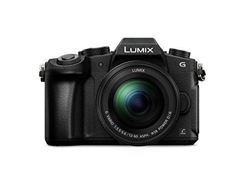 PANASONIC LUMIX DMC-G85MGW-K 4K Digital Camera, 12-60mm Power O.I.S. Lens, 16 Megapixel Mirrorless Camera, 5 Axis in-Body Dual Image Stabilization, (Black)