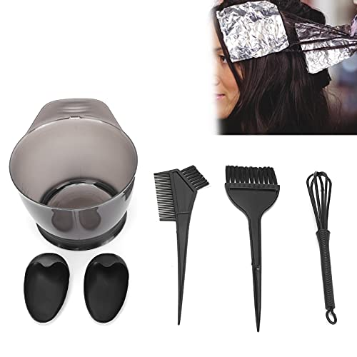 Conjunto de ferramentas de tingimento de cabelo, kit de coloração de tintura de cabelo leve para casa para cabeleireiro