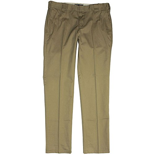 Dickies C 182 Slim Fit Chino Trousers Khaki
