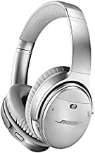 Bose QuietComfort 35 II Noise Cancelling Bluetooth Headphones— Wireless, Over Ear Headphones with Built in Microphone and Alexa Voice Control, Silver