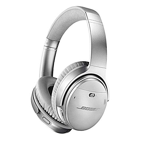 Auscultadores Bluetooth BOSE QC35 II (Over Ear - Microfone - Noise Canceling - Prateado)
