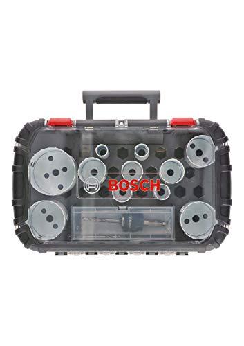 Bosch Professional 14 tlg. Lochsäge Progressor for Wood & Metal Universal Set (Zubehör Bohrmaschine)