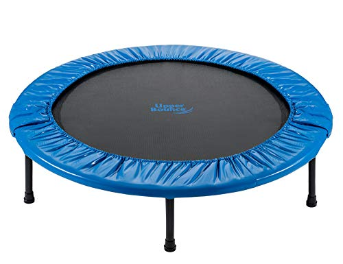 Upper Bounce - 36 Inch 91cm Mini Fitness Exercise Trampoline Rebounder Trampette for Gym, Indoor Workout, Cardio, Weight Loss - Foldable