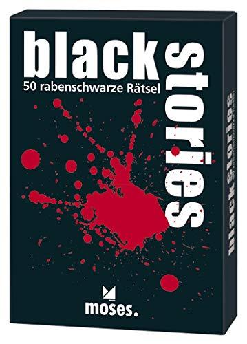 moses. black stories | 50 rabenschwarze Rätsel | Das Krimi Kartenspiel