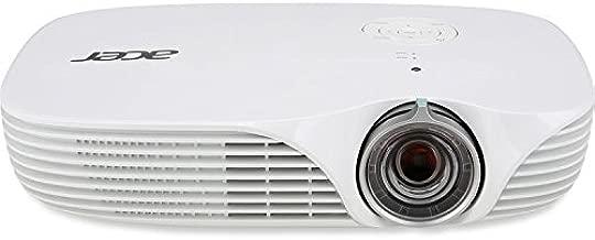 Acer DLP 3D Projector 1280 x 800 WXGA 800 lumens 100,000:1 Contrast Ratio K138ST(Renewed)