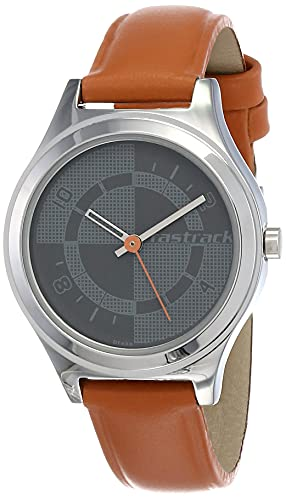 Fastrack Analog Grey Dial Women's Watch -NK6152SL02