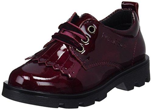 Pablosky, Zapatos de Cordones Oxford para Niñas, Rojo (Burdeos 326669), 25 EU