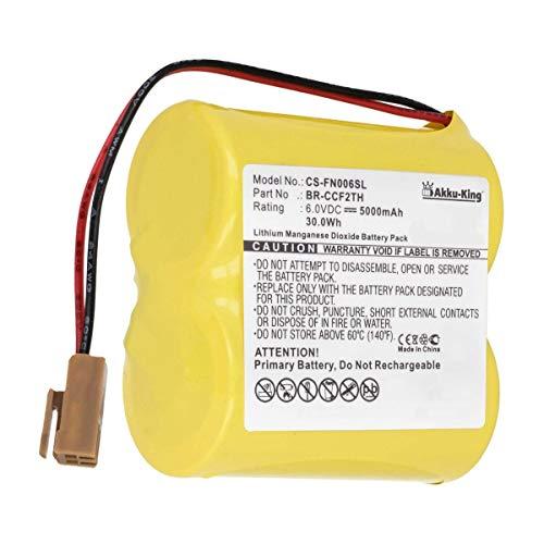 PLC Batterie kompatibel mit Cutler Hammer A06B-0073-K001- Li-MnO2 5000mAh - für A06 Control, A06 Series PLC Controllers