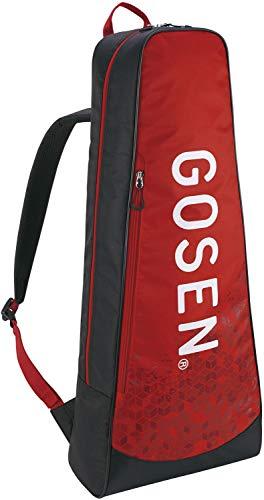 ゴーセン(GOSEN) テニス バドミントン ラケットバッグパック Athlete2 テニスラケット2本用 レッド BA19AR2