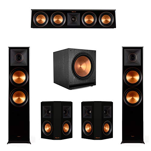 Why Choose Klipsch 5.1.2 Ebony Piano Black System-2 RP-8060FA,1 RP-404C,2 RP-402S,1 SPL-150