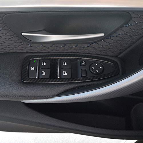 Lot de 5 boutons de contrôle de fenêtre en ABS pour 3 Series F30 2017 2018