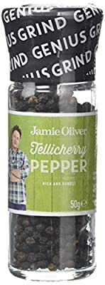 Jamie Oliver Cracking Black Peppercorn Grinder by Fiddes Payne