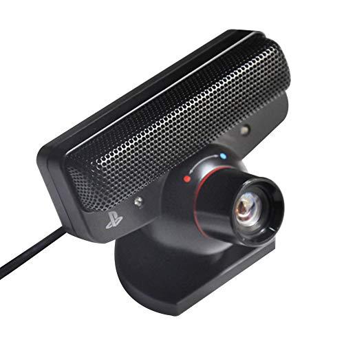 Almabner Webcam, 120 fps, USB 2.0, FOV-Zoomobjektiv, Bewegungssensor, Kamera, Sprachbefehle mit Mikrofon, Web-Kamera für Live-Class-Konferenz-Gaming, nicht null, Schwarz , Free Size