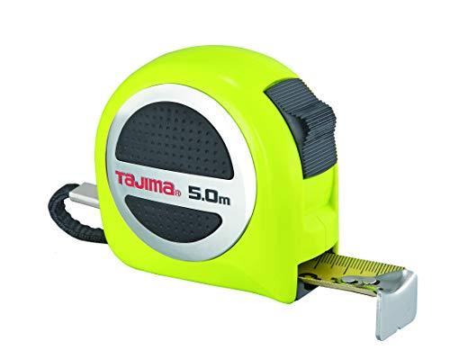 Tajima GASP25-50E (cinta métrica) 5 m / 25 mm (resistente revestimiento, nailon y plumín inoxidable), Cierre W-thick, 5m / 25mm