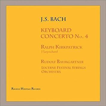J.Bach: Keyboard Concerto No. 4 in a Major, Bwv 1055