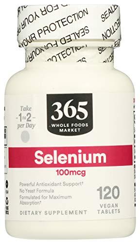 365 Everyday Value, Selenium 100mcg, 120 ct