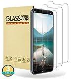 RIIMUHIR® Panzerglasfolie für Nokia 8.1 [3 Stück] 9H Festigkeit Panzerglas Schutzfolie Anti-Kratzen Anti-Bläschen Fingerabdrücke 3D Kompatibel Nokia 8.1 Panzerglas Bildschirmchutzfolie
