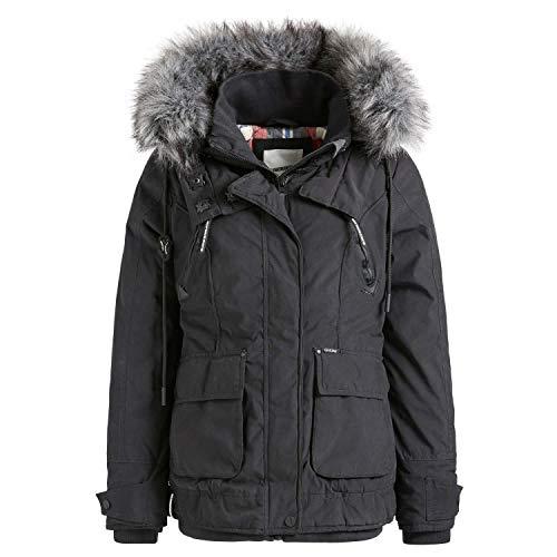 khujo Damen Winterjacke Elisha 1161JK193 Black XS