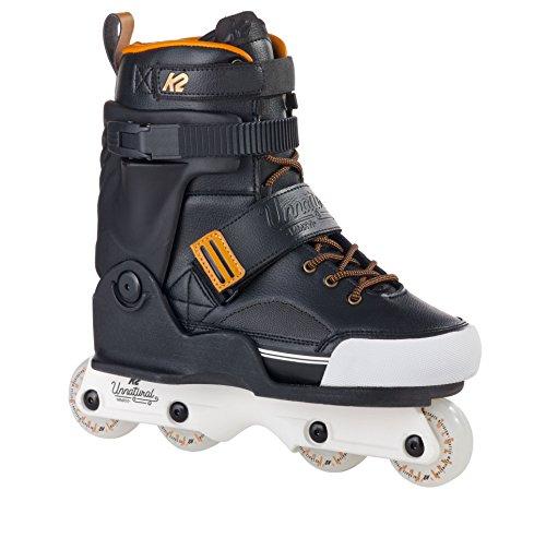 K2 Erwachsene Inline Skates Unnatural - Schwarz - EU: 41.5 (US: 8.5 - UK: 7.5) - 30A0016.1.1.085