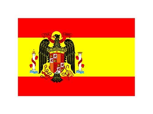 MAFCO - Bandera de poliéster con Arandelas de latón de España Under Franco 1945-1977