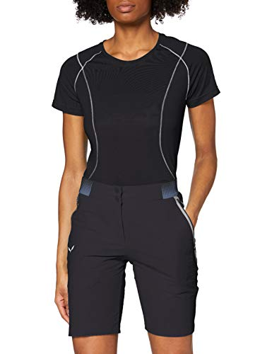 Salewa PEDROC Cargo 3 DST W Shorts Femme Black Out FR : L (Taille Fabricant : 46/40)