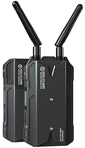 Hollyland Mars 300 PRO [Official] HDMI Loopout Wireless Transmitter and Receiver for SLR/MILC Camera with 300ft Long Range 0.08S Low Latency 1080P HD Video Transmission System (Enhanced)