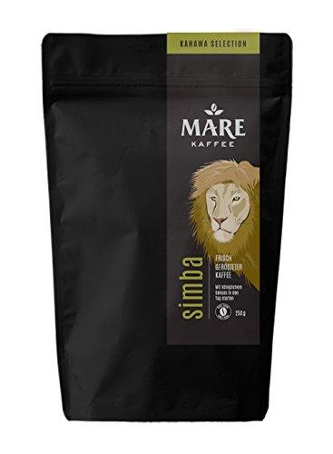 Mare Kaffee - simba - 100% Arabica - Kaffee, Vollautomat, Handfilter, Stempelkanne, Filterkaffeemaschine, AeroPress (1.000 Gramm)